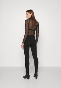 Dorothy Perkins - FRANKIE - Jeans Skinny Fit - black - 2