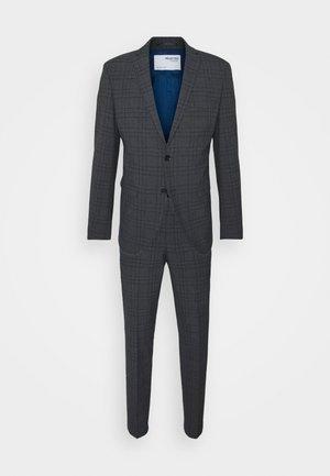SLHSLIM MYLOLOGAN SUIT - Suit - dark grey