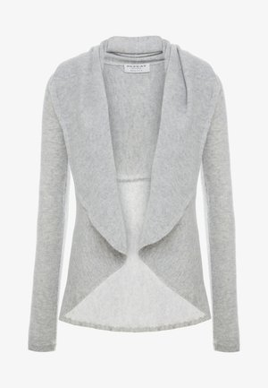 Cardigan - silver grey