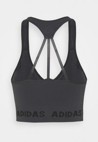 adidas Performance - AEROKNIT BRA - Brassières de sport à maintien léger - dark grey heather/solid grey - 1