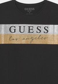 Guess - JUNIOR - Camiseta de manga larga - jet black - 2