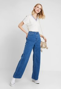 Weekday - ACE - Bootcut jeans - porto blue - 2