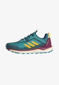 adidas Performance - TERREX AGRAVIC GORE-TEX BOOST TRAIL RUNNING - Løbesko trail - turquoise - 1