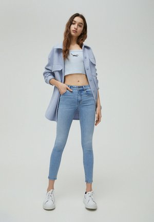 LOW WAIST - Jeans Skinny Fit - light blue