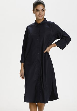 Shirt dress - midnight marine