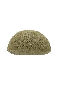 Konjac Sponge - KONJAC FACIAL SPONGE - Skincare tool - grüner tee - 1