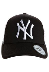 New Era - MLB CLEAN TRUCKER NY YANKEES - Cap - black/white - 1