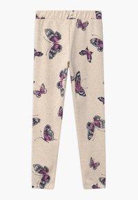 GAP - GIRLS LOGO - Teplákové kalhoty - mottled beige - 1