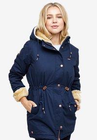 Mazine - OUTLANE - Winter coat - navy - 0