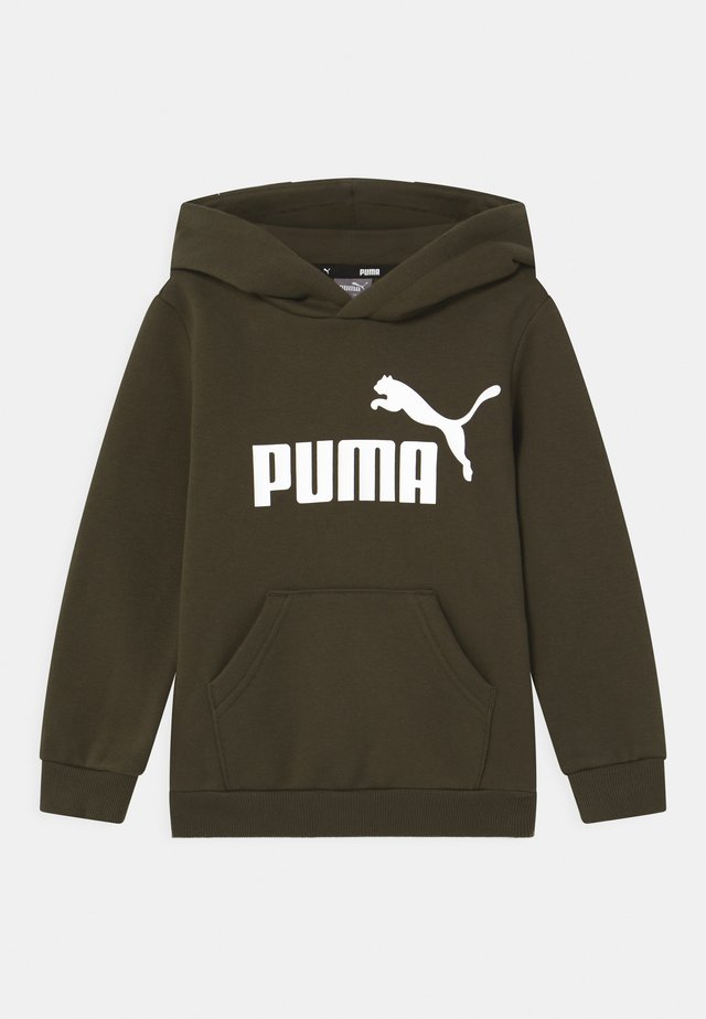 BIG LOGO HOODIE UNISEX - Sweater - forest night