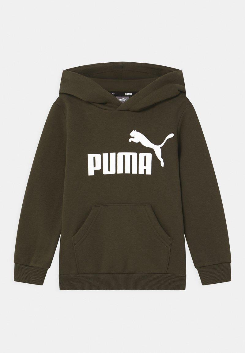 Puma - BIG LOGO HOODIE UNISEX - Sweater - forest night