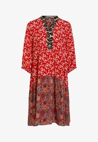 Oui - Day dress - red violett - 4