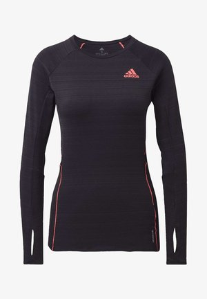 RUNNER LONG-SLEEVE TOP - Long sleeved top - black