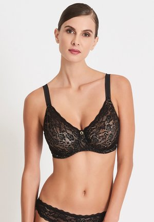 Underwired bra - black