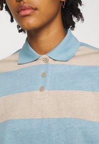 Monki - Long sleeved top - blue light/beige light - 5