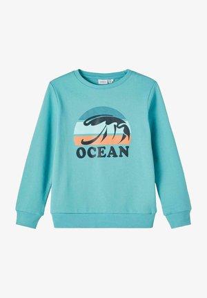 Sweater - aqua