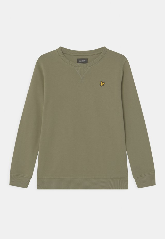 CLASSIC CREW NECK - Sweater - oil green