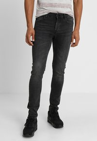 Only & Sons - ONSLOOM BLACK WASHED - Jeans Slim Fit - black denim - 0