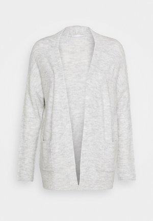 ONLSIMONE CARDIGAN - Kardigan - light grey melange