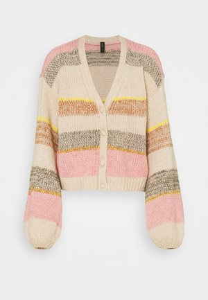 YASNINO CARDIGAN - Neuletakki - moonlight