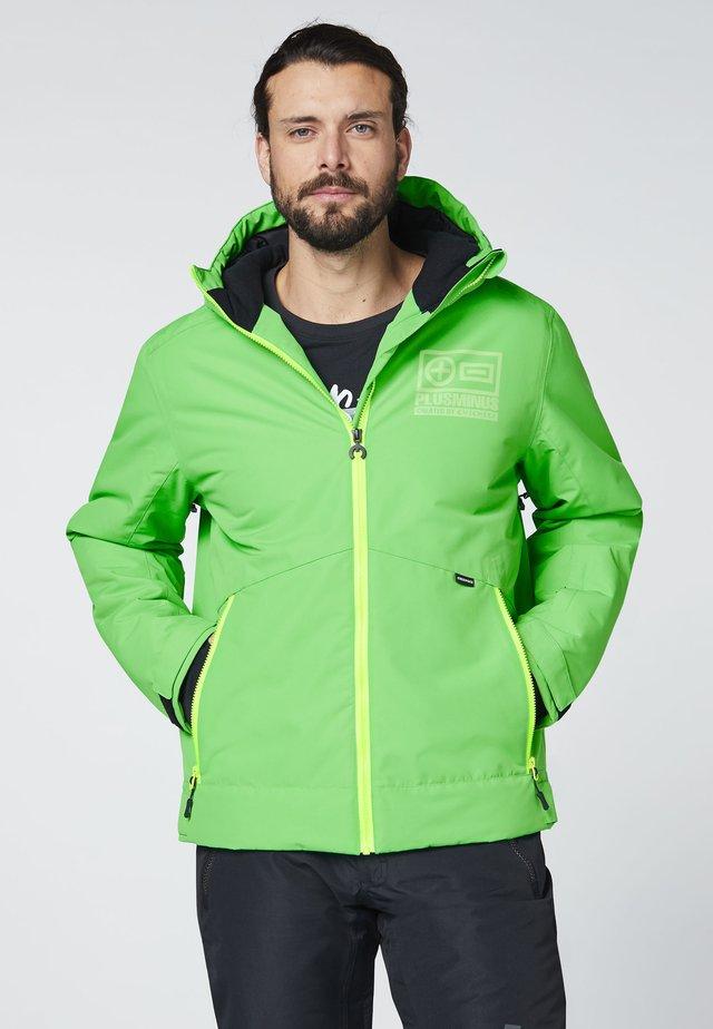 MIT GROSSEM PLUSMINUS  - Light jacket - irish green
