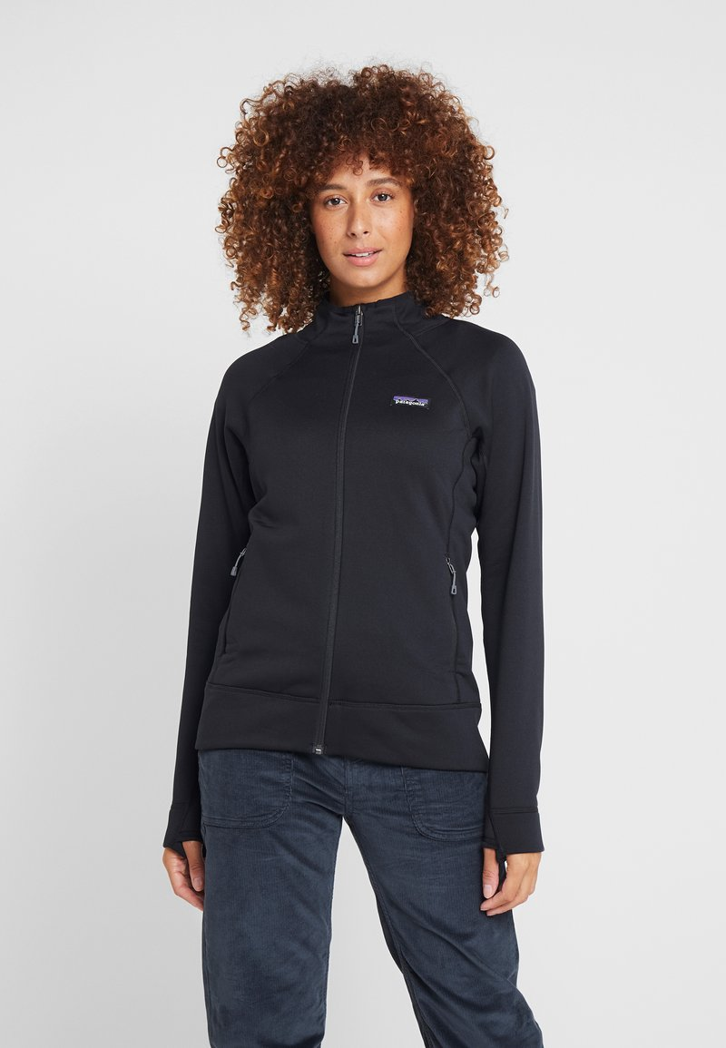 Patagonia - CROSSTREK - Fleece jacket - black
