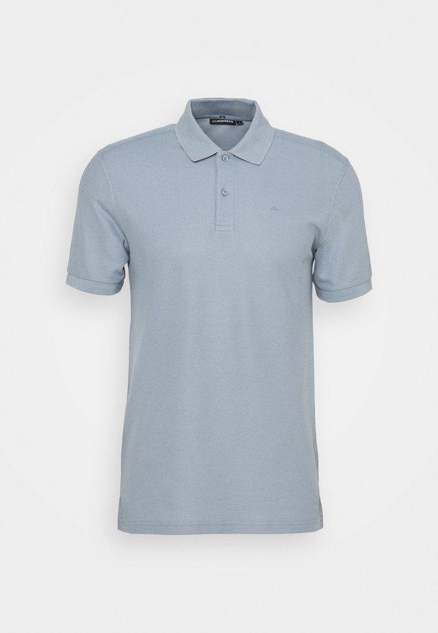 TROY SHIRT SEASONAL - Poloshirt - steel blue