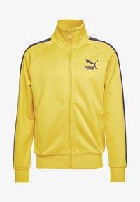 Puma - ICONIC TRACK - Zip-up hoodie - sulphur - 4