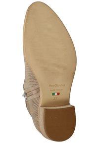 NeroGiardini - Ankle boots - beige - 4