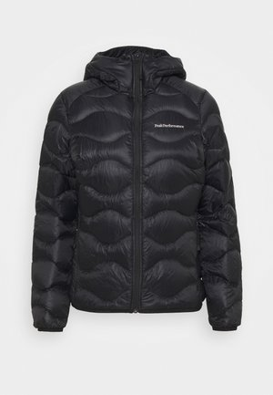 HELIUM HOOD JACKET - Down jacket - black