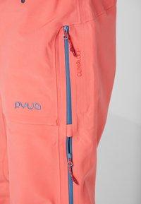 PYUA - RELEASE - Snow pants - grapefruit pink - 3