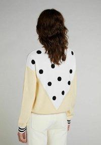 Oui - Jumper - yellow white - 2