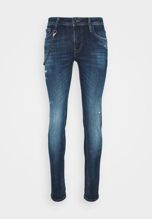 IGGY TAPERED FIT IN CROSS STRETCH - Slim fit jeans - blu denim