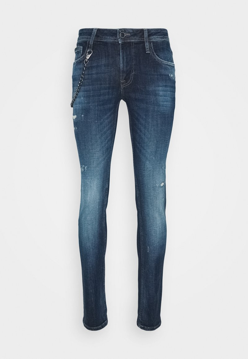Antony Morato - IGGY TAPERED FIT IN CROSS STRETCH - Slim fit jeans - blu denim