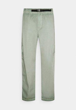 CAT WORKWEAR PANTS - Pantalon cargo - mint