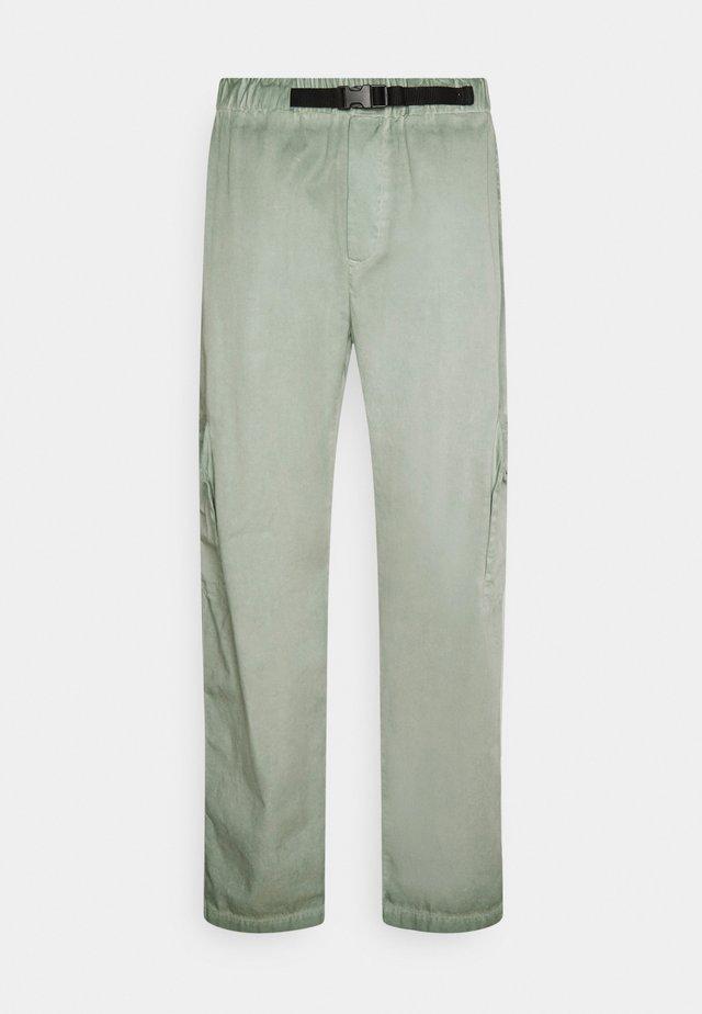 CAT WORKWEAR PANTS - Kapsáče - mint