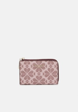 SPADE FLOWER COATED KEY POUCH - Peněženka - pink multi
