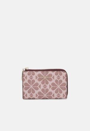 SPADE FLOWER COATED KEY POUCH - Wallet - pink multi