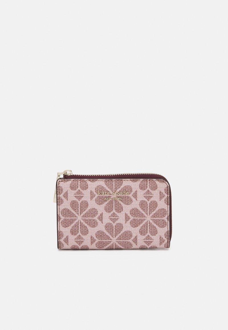 kate spade new york - SPADE FLOWER COATED KEY POUCH - Peněženka - pink multi