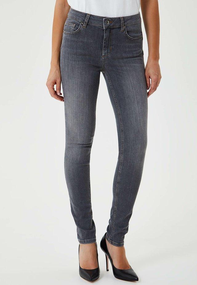 Jeans Skinny - grey denim