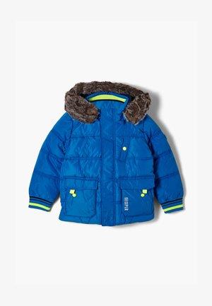 ABNEHMBAREN WEBPELZ - Winter jacket - blue