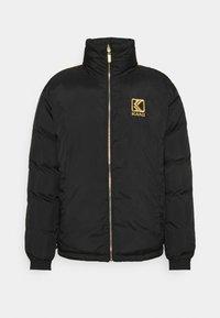 Karl Kani - RETRO REVERSIBLE PUFFER JACKET UNISEX  - Light jacket - black - 7