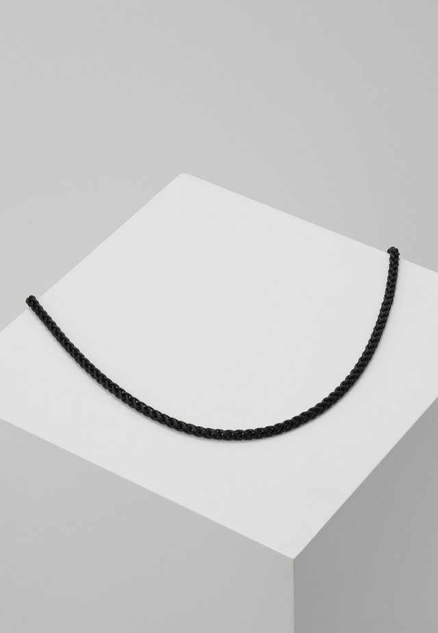WHEAT LINK NECKLACE - Collana - black