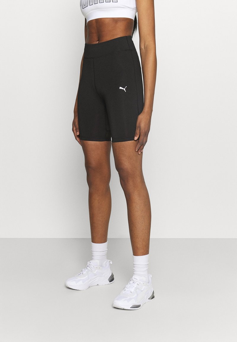 Puma - TRAIN FAVORITE BIKER SHORT - Collant - black