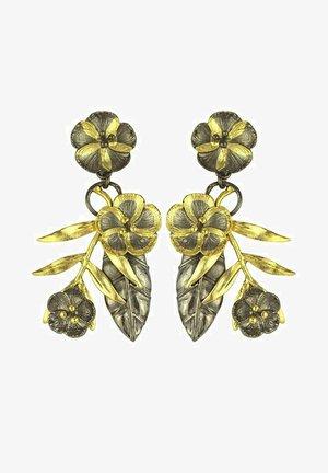 FORGET-ME-NOT - Boucles d'oreilles - golden