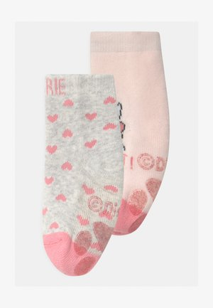 ANTISLIPPER GIRL 2 PACK - Socks - grey melange