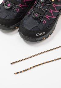 CMP - KIDS RIGEL LOW SHOE WP UNISEX - Hiking shoes - antracite/bounganville - 6