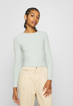 TIE BACK - Long sleeved top - pistage