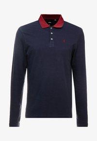 Burton Menswear London - POP COLLAR - Piké - navy - 4