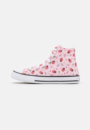 CHUCK TAYLOR ALL STAR UNISEX - Korkeavartiset tennarit - pink foam/white/black